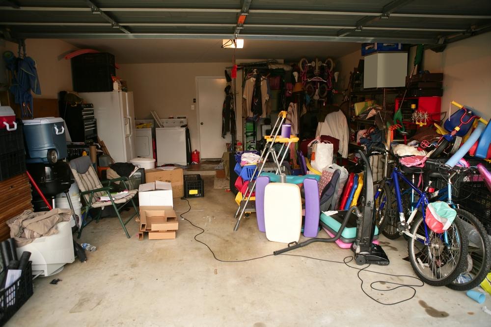 Garage voller Gerümpel
