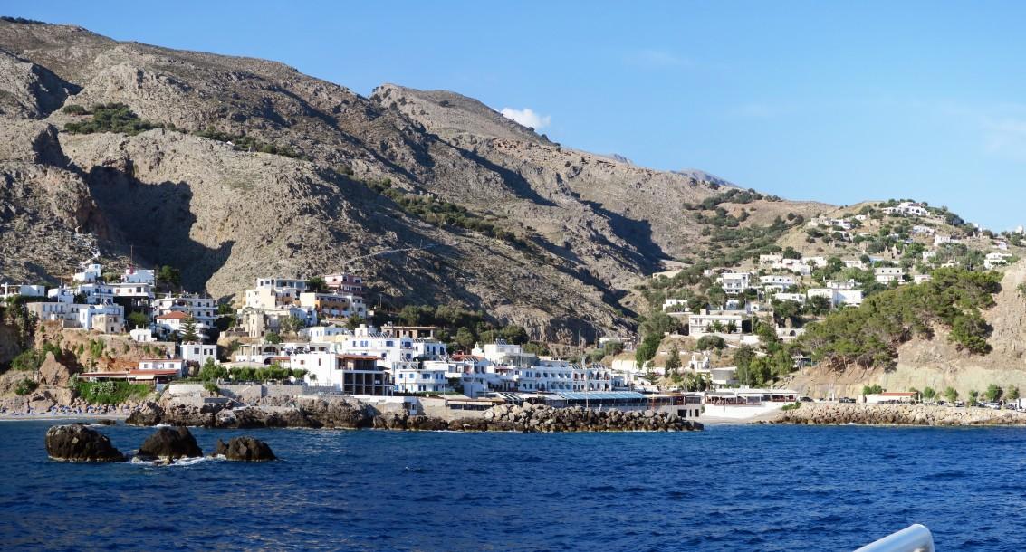 Sfakion auf Kreta
